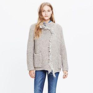 Madewell Fringe Open Cardigan Sweater